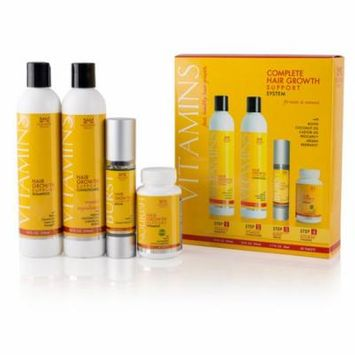 Nourish Beaute - Complete Hair Growth Support System, 4pcs