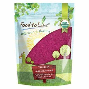 Organic Freeze-Dried Red Dragon Fruit Powder (1 lb)