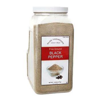 Olde Thompson Fine Ground Black Pepper, 5 lbs