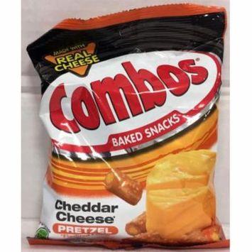 Combos Cheddar Cheese Pretzel Baked Snacks 6.30 oz