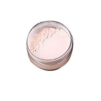 DZT1968 1 Box 4 color long-lasting Skin-made Makeup Powder To Mention Bright Color Matte Powder Loose Powder (Ivory white)