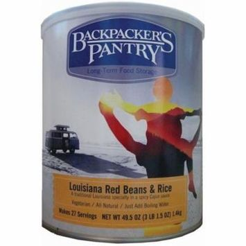 Backpackers Pantry 702232 Louisiana Red Beans & Rice Can, Pack of 1