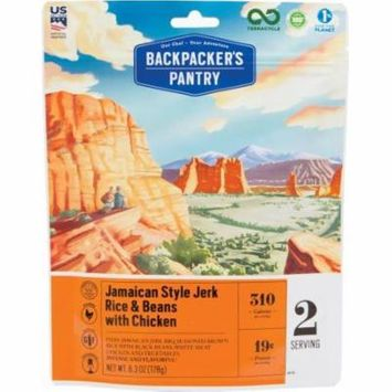 Backpackers Pantry 702018 Jamaican Jerk Rice With chckn 2p, Pack of 1