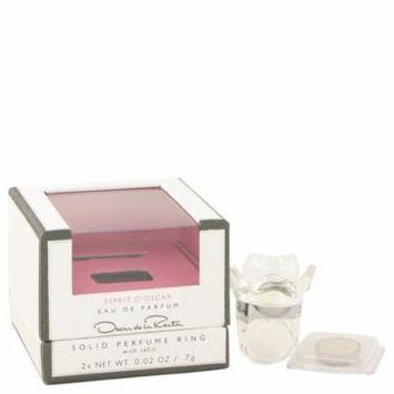 Women Solid Perfume Ring with Refill .02 oz Oscar De La Renta