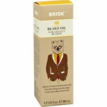 Brisk Beard Oil - Citrus (Pack of 14)