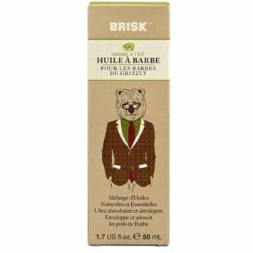 Brisk Beard Oil - Tea Tree (Pack of 8)