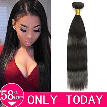 8 Inches Body Wave Closure Human Hair, Hvaxing 4x4 Free Part Body Wave Lace Closure with Baby Hair 8A Unprocessed Brazilian Virgin Remy Hair Closure Bleached Knots