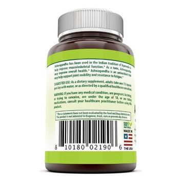 Herbal Secrets Ashwagandha 500 Mg 120 Capsules