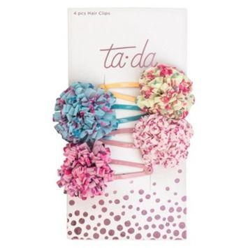 Ta-da Loop Flower Contour Clips - 4pc
