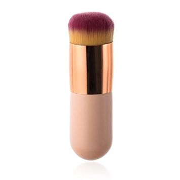 KaiCran Cosmetic Face Makeup Brush Powder Brush Blush Brushes Foundation Tool Fan Brushes