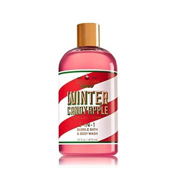 Winter Candy Apple 2-In-1 Bubble Bath & Body Wash, 16 oz