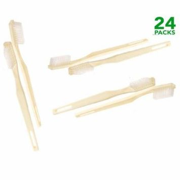 Medline Individually Wrapped Adult Toothbrushes (Pack of 24)