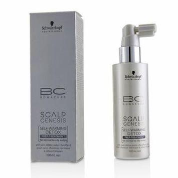 BC Scalp Genesis Self-Warming Detox Prep-Treatment (For Normal to Oily Scalps)-100ml/3.4oz