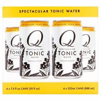 Q Tonic Tonic Water 4Pk,30 Fo (Pack Of 6)