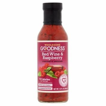 Wholesome Goodness Vinaigrette Rd Wn & Rspbr,12 Fo (Pack Of 6)