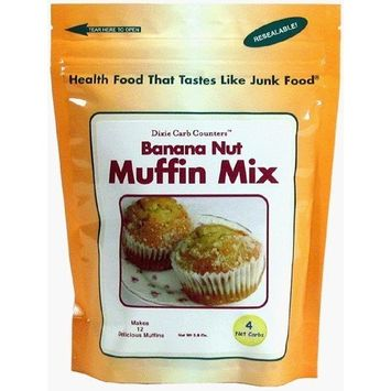 Dixie Carb Counters Banana Nut Muffin Mix [Banana Nut]