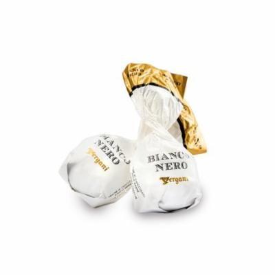 Vergani, Italian White Choc. Pralines w/ Dark Choc. Ganache Cream (Bianco Nero) (40 pcs)