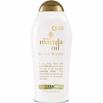 4 Pack - OGX Marula Oil Hydrate Body Wash 19.5 oz