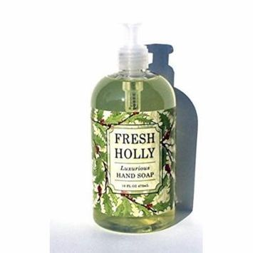 Greenwich Bay FRESH HOLLY Hand Soap Enriched with Shea Butter and Eucalyptus Oil 16 oz.