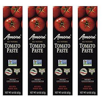 Amore Tomato Paste - 4.5 oz ( 4 Pack )