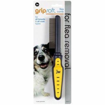 JW Gripsoft Flea Comb Flea Comb - Pack of 12
