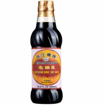 Soy Sauce, Pearl River Bridge Superior Dark ,16.9 fl oz Plastic Bottle