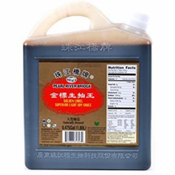 Pearl River Bridge Golden Label Superior Light Soy Sauce, 60 fl oz
