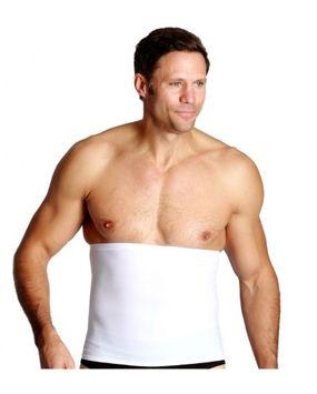 Medex Top Quality Premium New UNISEX Compression and Detox Waist Wrap Slimmer White