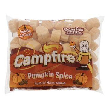 Delicious Campfire Pumpkin Spice Marshmallows! Gluten Free! Fat Free! Perfect Snack or For S'mores!