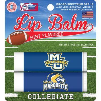 Marquette Golden Eagles 2 Pack Lip Balm - Navy