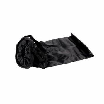 Car Trash Bag Waterproof Polyester Oxford Car Trash Can Garbage Hanging Bag Storage Bag, black