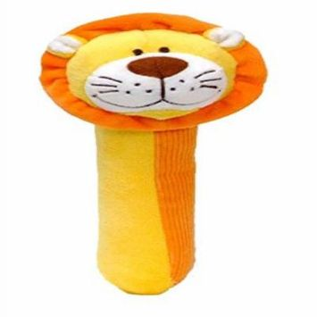 Lion Squeakaboo Squeaker and Rattle Toy