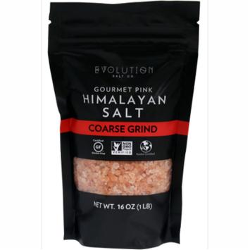 Evolution Salt Co- Gourmet Pink Himalayan Salt- Coarse Grind 1lb