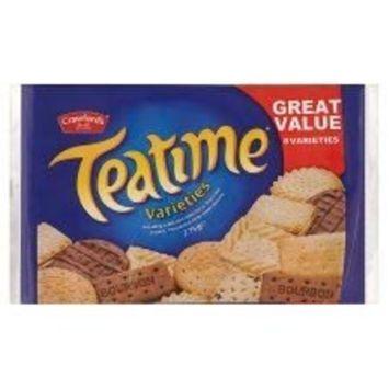 Crawford's Teatime Varieties Biscuits 275G