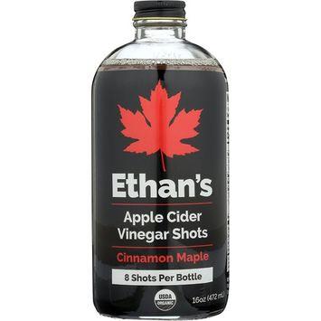 Ethan's Apple Cider Vinegar Shots, Cinnamon Maple 16oz