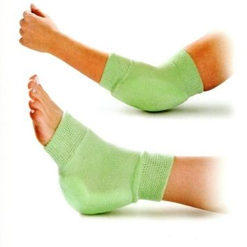 Medline Knit Protector Fits on Elbow or Heel - One Pair