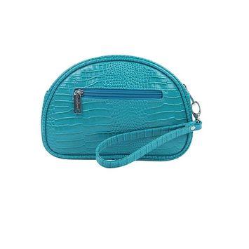 Primeware Pina Colada Clutch Insulated Cosmetics Bags, Blue Turquoise
