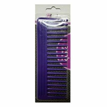6 Pack Quality Choice Wide Tooth Detangling Volumizing Comb 1 Each