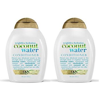 OGX Weightless Hydration Coconut Water Conditioner, 13 oz (Set of 2)