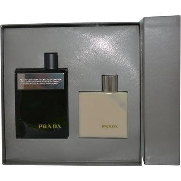 Prada Amber Pour Homme Intense 2 Piece Set Includes: 3.4 oz Eau de Parfum Spray + 3.4 oz After Shave Balm
