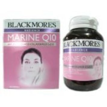 Blackmores Radiance Marine Q10, Marine Fish Protein Extract Combined with Coenzyme Q10 60 Caps