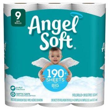 Angel Soft Bathroom Tissue Big Rolls1782.0 ea x 9 pack(pack of 6)