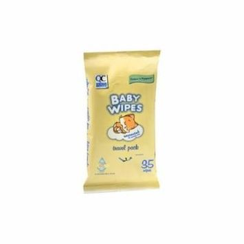 3 Pack Quality Choice Unscented Baby Wipes Resealable Travel Pack 35 Count Each