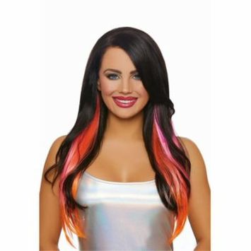 Women's Long Straight Layered Three-Piece Hair Extensions