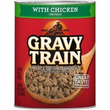 Gravy Train Meaty Ground Dinner With Chicken Wet Dog Food, 13.2 Oz