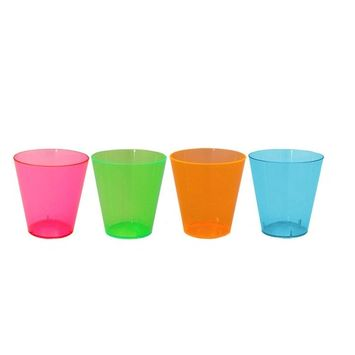 Party Essentials CHAMP4-20/20 Hard Plastic 2-Piece Champagne Glass 4-Ounce Capacity Clear (Case of 400) case of 400