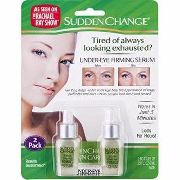3 Packs SuddenChange Under-Eye Firming Serum 0.23 Ounces each Bottle 2-Bottle-Pk