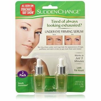 4 Packs SuddenChange Under-Eye Firming Serum 0.23 Ounces each Bottle 2-Bottle-Pk