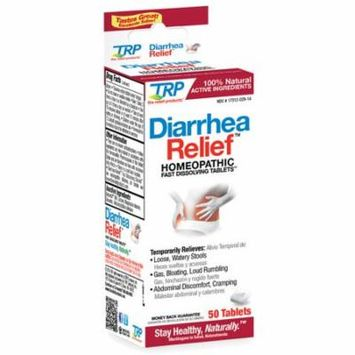 2 Pack The Relief Products Diarrhea Relief Homeopathic Dissolving 50 Tablets ea
