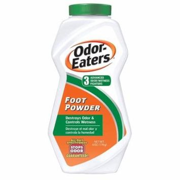 4 Pack Odor Eater Foot Powder Size 6 Ounce each